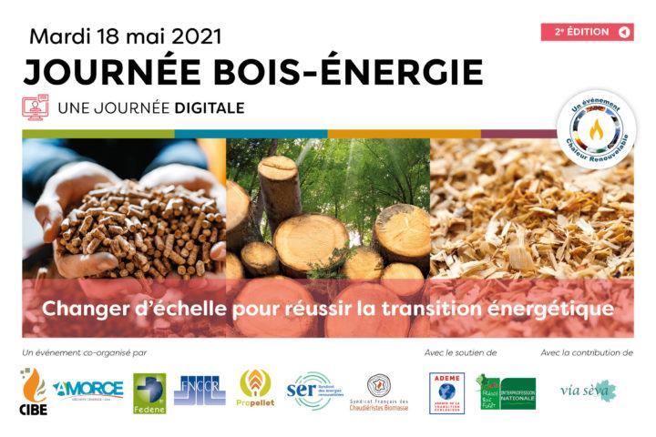 18 mai 2021, bois-énergie, changer d'échelle pour réussir la transition énergétique