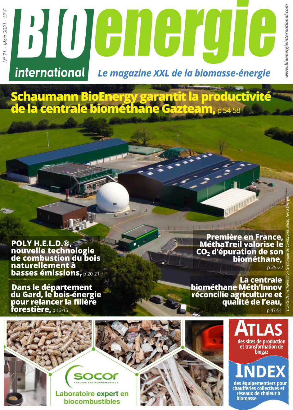 Bioénergie International n°71 – mars 2021