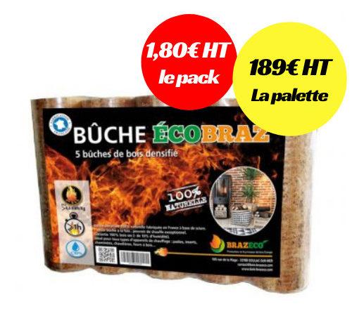 Brazeco vient de lancer sa deuxième unité de production de bûches de bois densifié