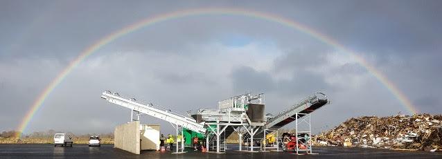 La préparation de la biomasse et des déchets sur machines stationnaires