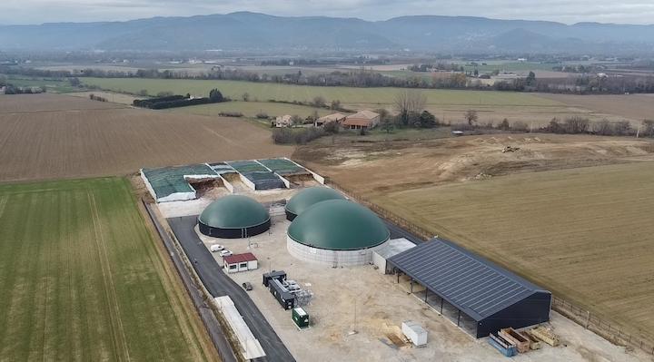 Méthavéore, première centrale à injecter du biométhane dans la Drôme