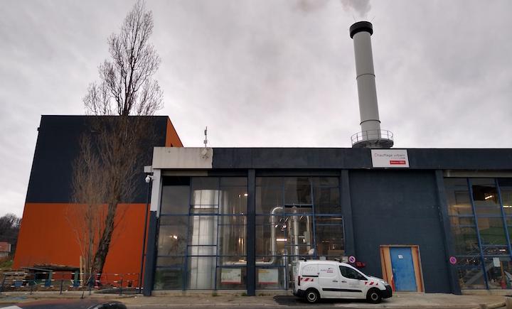 Mise en service de la chaufferie biomasse du réseau de chaleur de Givors au sud de Lyon