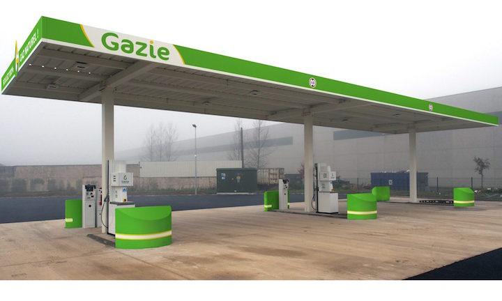 GAZIE, réseau de stations BioGNV promu par des agriculteurs-méthaniseurs