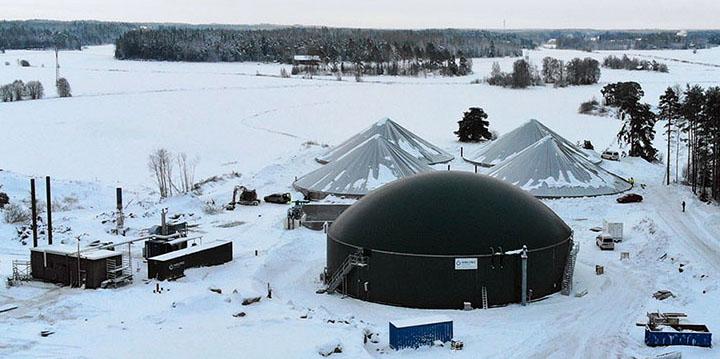 En Finlande, la méthanisation limite les rejets de fertilisants dans la mer et les lacs