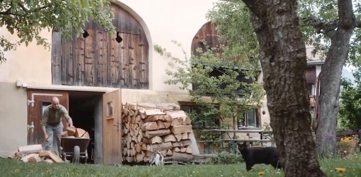 Des Suisses expliquent pourquoi ils se chauffent au bois de leur forêt