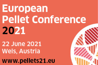 La conférence européenne 2021 sur les granulés de bois aura lieu le 22 juin à Wels