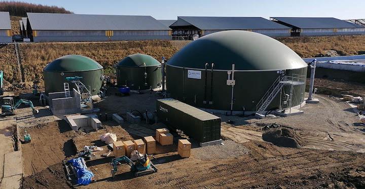 Weltec met en service deux unités de méthanisation agricole en région sismique