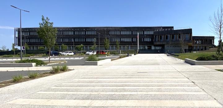 La chaufferie à bois du Lycée à énergie positive de Villefranche-de-Lauragais