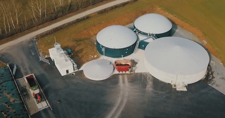 Le GAEC Chaton vend la chaleur de son unité de cogénération biogaz à un industriel voisin