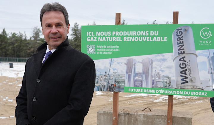 La décharge de Saint-Étienne-des-Grés au Québec valorisa son biogaz en biométhane