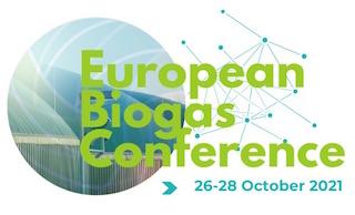 Conférence européenne du biogaz du 26 au 28 octobre 2021 à Bruxelles
