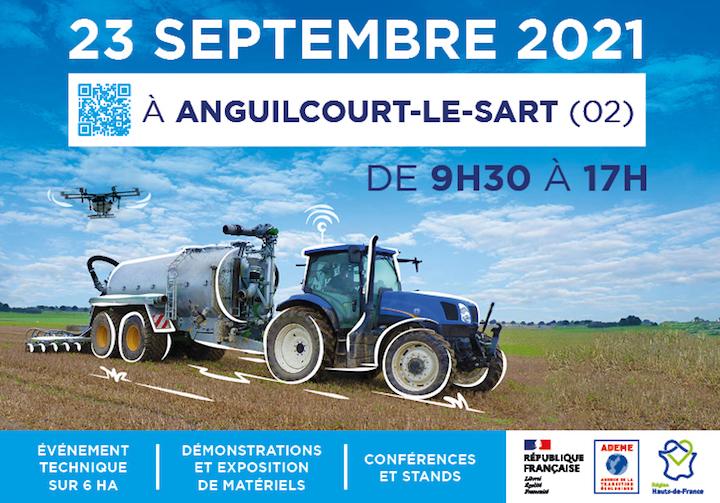 Epand'agri Day, 23 septembre 2021, l'épandage de digestat de méthanisation et d'effluents d'élevage