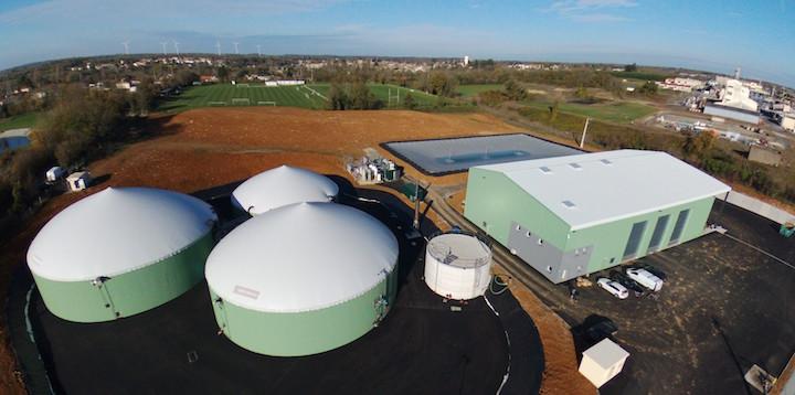 La centrale biométhane Méth'Innov réconcilie agriculture et qualité de l'eau
