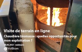 8 juin 2021, les opportunités d'une chaudière à biomasse à la ferme