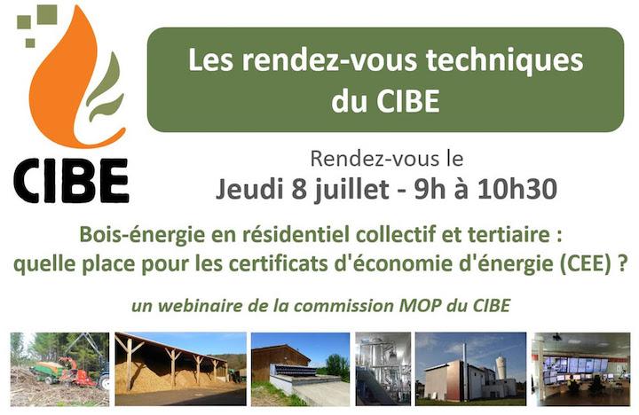 8 juillet 2021, place des CEE pour le bois-énergie en résidentiel, collectif et tertiaire