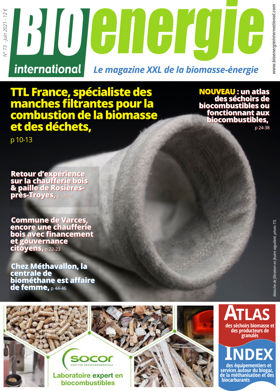 Bioénergie International n°73 – juin 2021