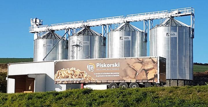 AgriConsult, spécialiste des solutions de stockage de granulés de bois et de séchage de grains au bois