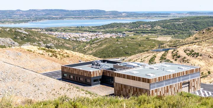 BioResourceLab à Narbonne, centre de recherche de Suez pour les déchets organiques