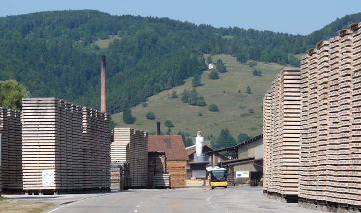 H2Bois va produire de l'hydrogène  renouvelable à partir de bois dans le Jura