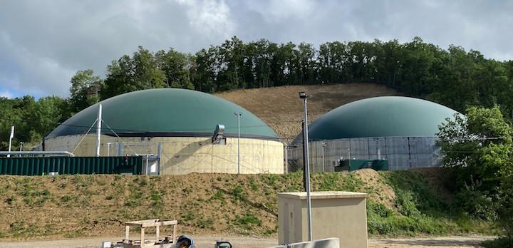 Mourriére Méthanisation, 19ème site injectant du gaz vert en Auvergne-Rhône-Alpes