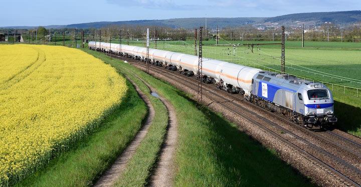 Bientôt des trains de marchandises roulant au biodiesel de colza en France