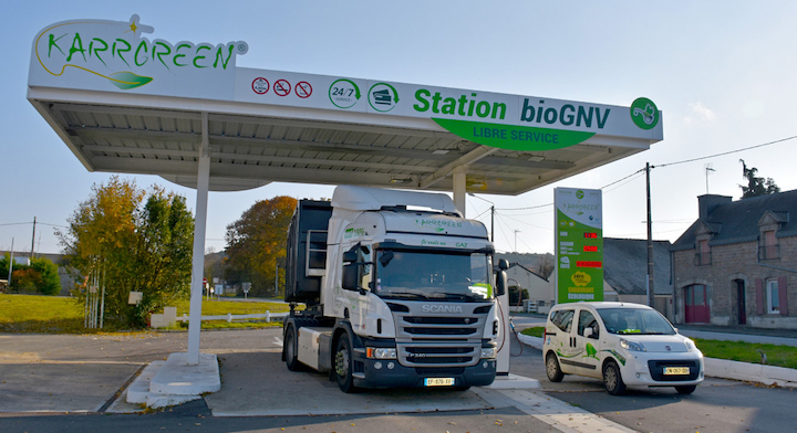 Enquête de satisfaction auprès de 42 professionnels roulant au GNV ou au bioGNV