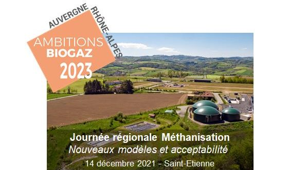 Journée de la méthanisation en AuRA, le 14 décembre 2021 à Saint-Etienne