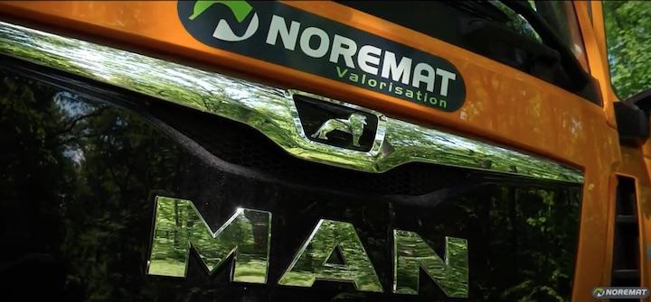 Les toutes dernières nouveautés des camions-déchiqueteuse de bois-énergie Noremat