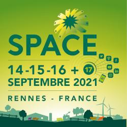 Space 2021, 3 jours en présence + 1 jour en digital