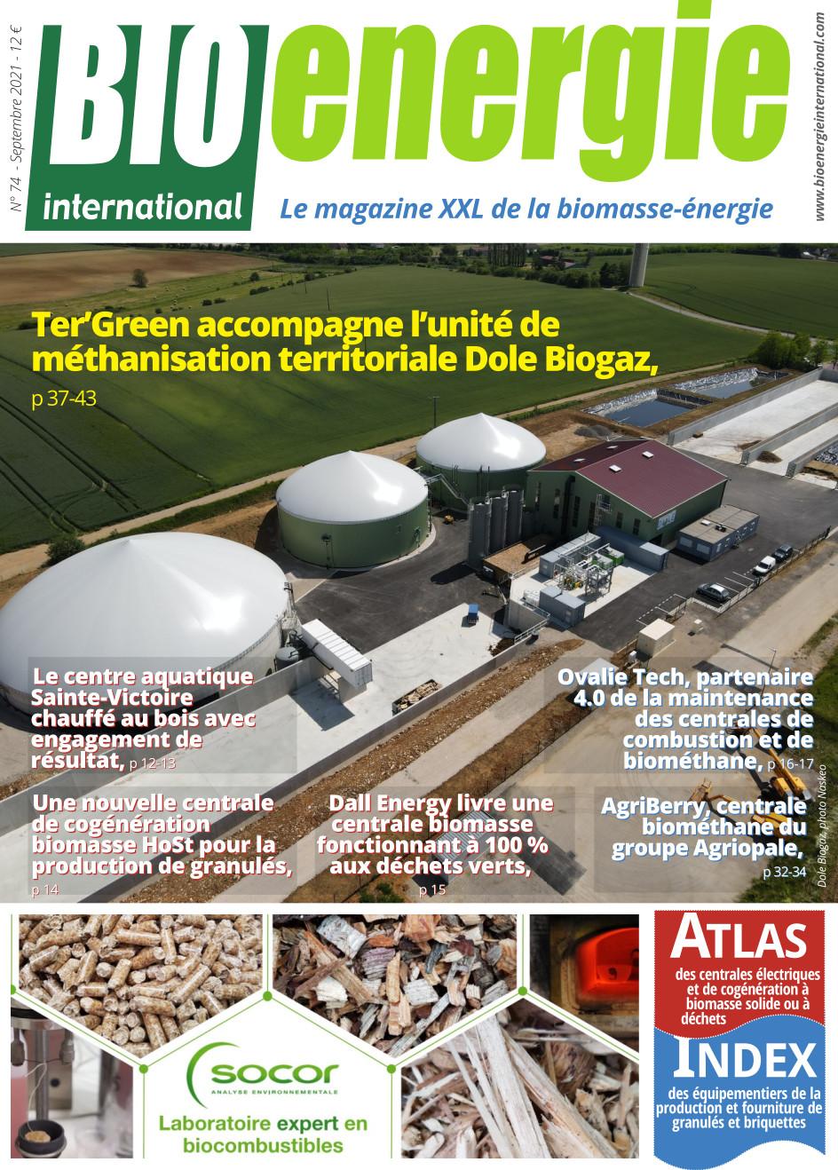 Bioénergie International n°74 – septembre 2021
