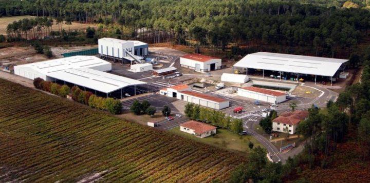Séchage solaire de CSR à l'unité de valorisation organique de Saint-Perdon