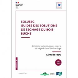 SOLUSEC, guide des solutions de séchage du bois bûche