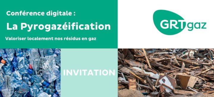 21 octobre 2021, conférence digitale sur la gazéification des déchets pour injection