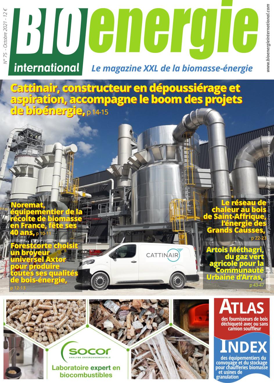 Bioénergie International n°75 – octobre 2021
