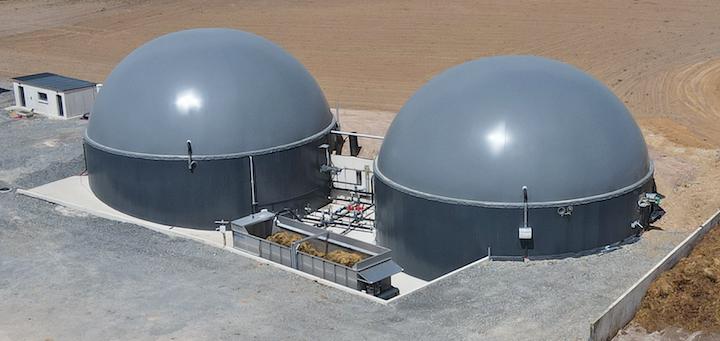 Les réservoirs de stockage de biogaz à double membrane Agrotel