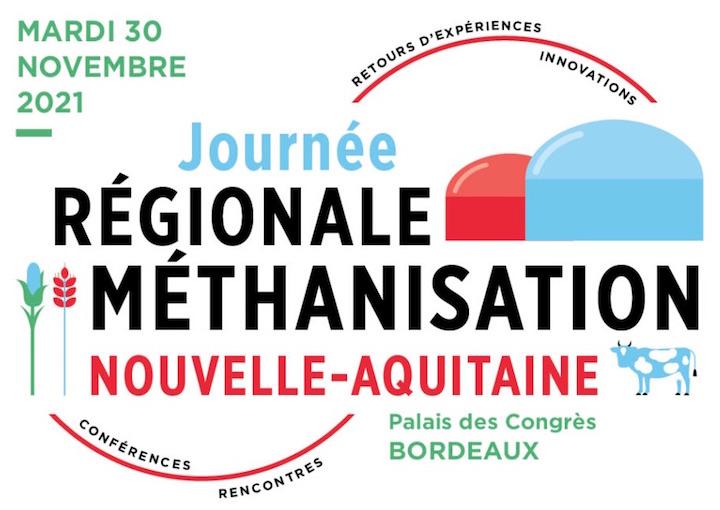 30 novembre 2021, journée régionale de la méthanisation en Nouvelle-Aquitaine !