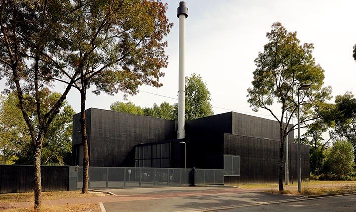 Compte R. équipe la nouvelle chaufferie biomasse des Aubiers‐Le Lac à Bordeaux