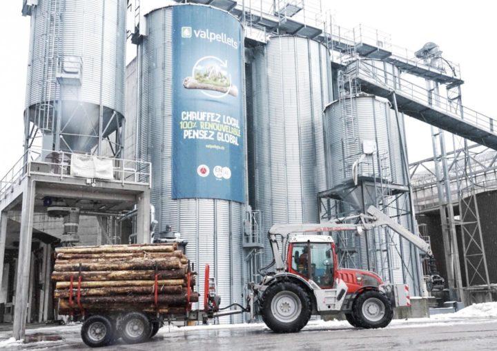 Valpellets produit des granulés de bois avec la chaleur et l'électricité des déchets de l'UTO