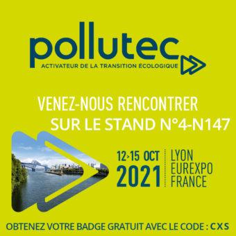Pollutec 2021, obtenez votre invitation gratuite