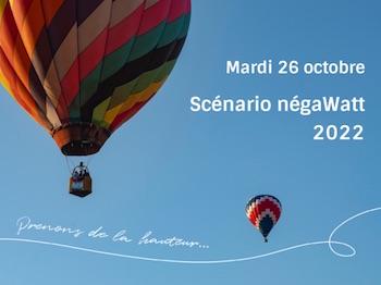 26 octobre 2021, présentation du scénario négaWatt 2022 en visioconférence