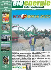 Bioénergie international n°0 – Avril 2007